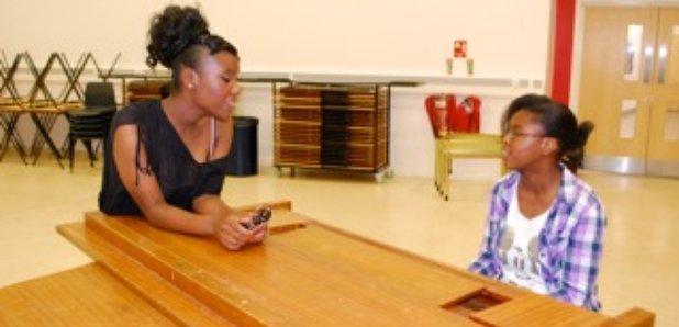 The Schools Proms - Taneisha Jackson and Stephanie