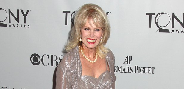 Joanna Lumley on the red carpet