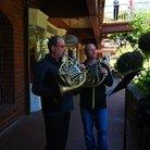 Bach flashmob in California