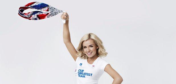 Katherine Jenkins Team GB
