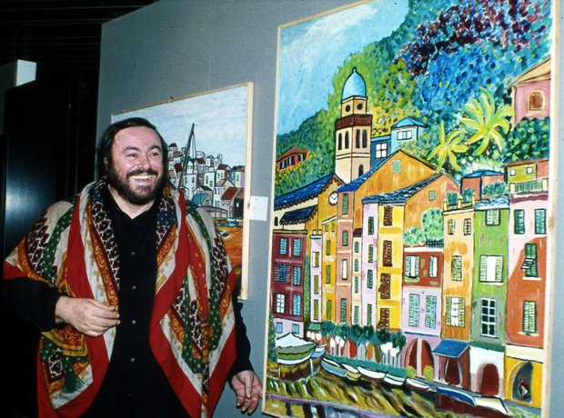 Pavarotti the Painter