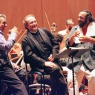Three Tenors rehearse for World Cup