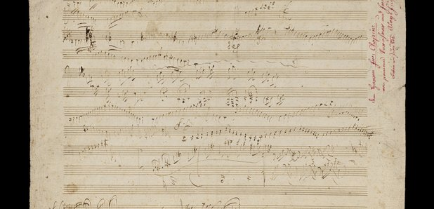 Beethoven, Bach manuscripts up for auction