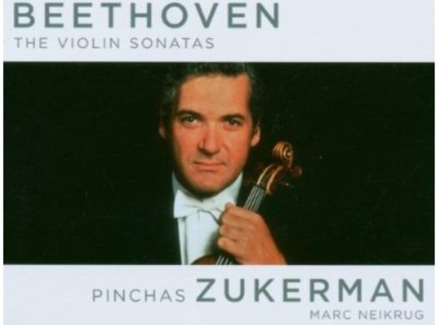 Beethoven - The Violin Sonatas (Pinchas Zukerman) album cover