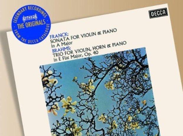 Brahms - Horn Trio/Franck - Violin Sonata (Ashkena