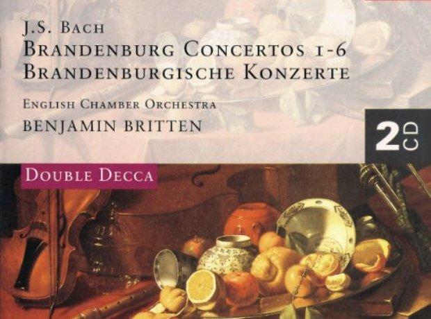 J.S. Bach - Brandenburg Concertos album cover