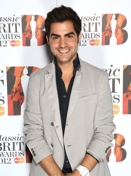 Miloš Karadaglić arrives at the Classic BRITS Laun