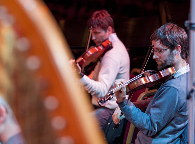 violins and harps rsno Classic FM Live 2012