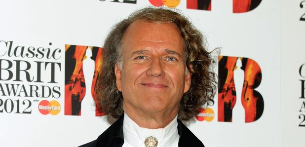 Andre Rieu at the Classic BRIT Awards 2012