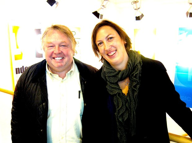 Miranda Hart and Nick Ferrari