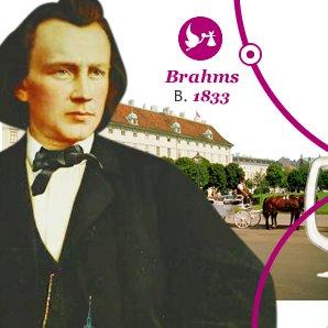Brahms Born 1833