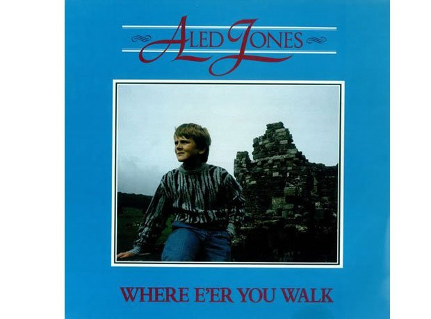 Aled Jones album cover