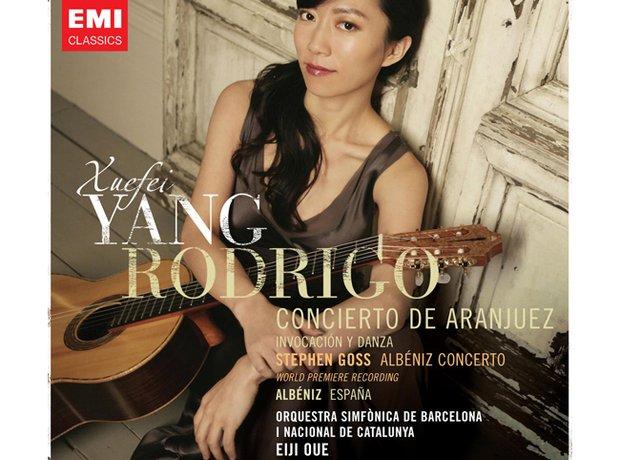 Rodrigo Concierto de Aranjuez by Xuefei Yang, album cover