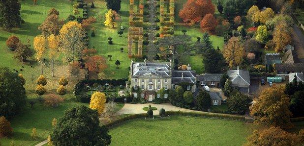 highgrove house autumn colours