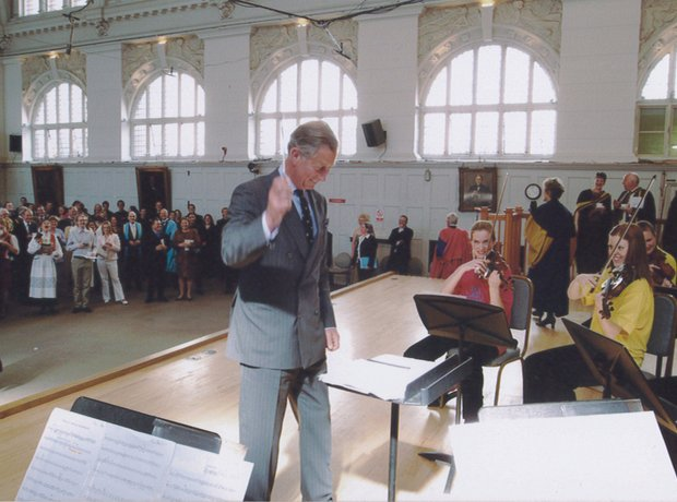 Prince Charles at the Royal College of Music