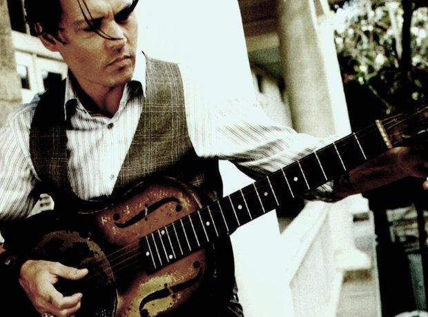 Johnny Depp guitar