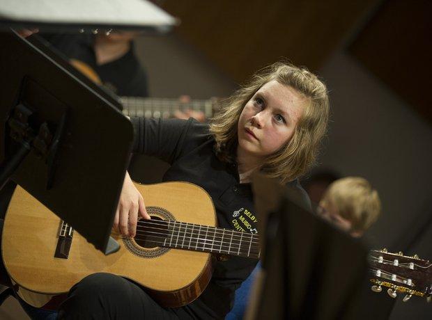 Selby Music Centre Senior Guitar Ensemble