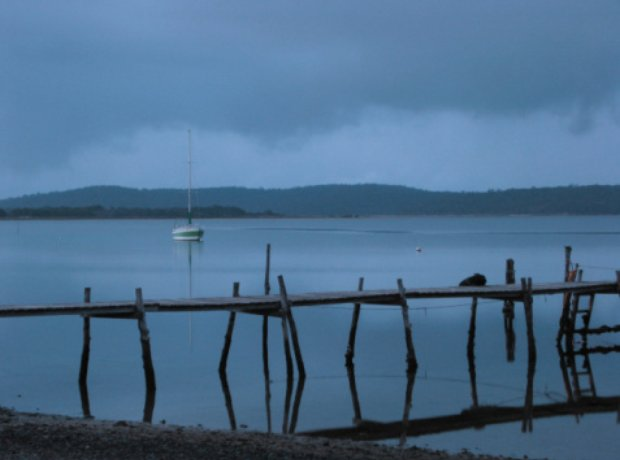 storm fishing boats