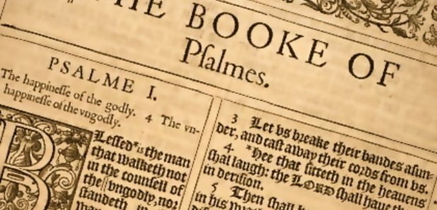 Book of Psalms Old Testament