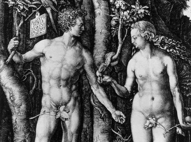 Old Testament Adam Eve Le Sueur La mort d'Adam