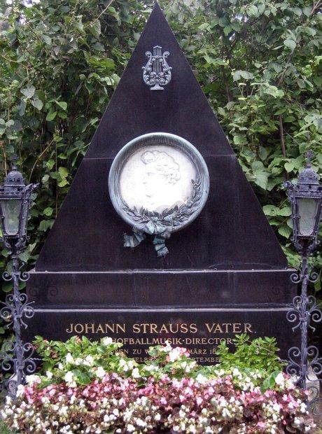 Johann Strauss I grave Vienna