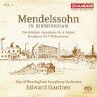 Mendelssohn Birmingham CBSO Gardner