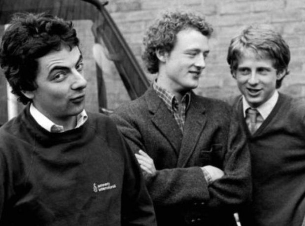 Rowan Atkinson Howard Goodall Richard Curtis Dibley Mr Bean Blackadder
