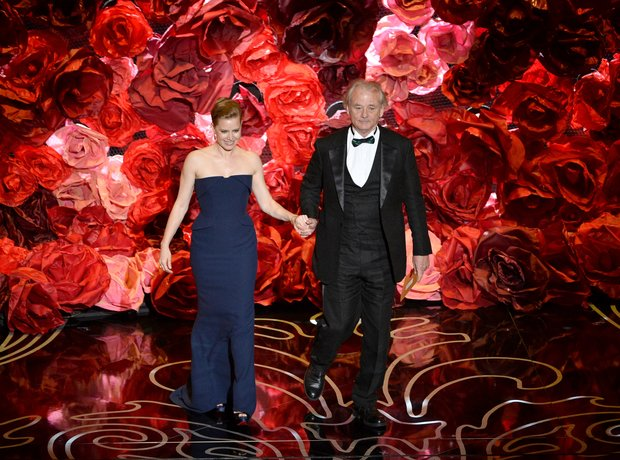 Amy Adams and Bill Murray Oscars 2014