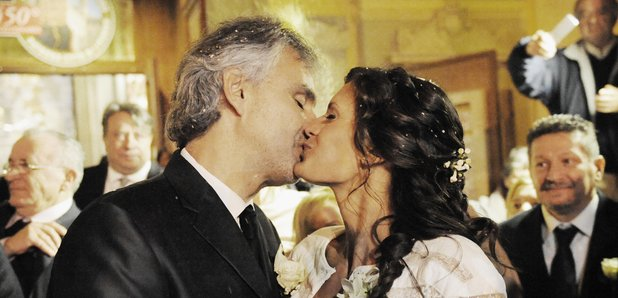 Andrea Bocelli and Veronica Berti wedding
