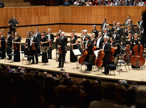 Neville Marriner 90th birthday concert Joshua Bell Academy St Martin Fields Royal Festival Hall