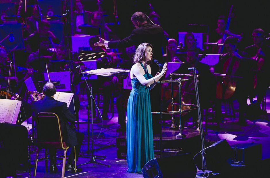 Hayley Westenra at Classic FM Live 2014