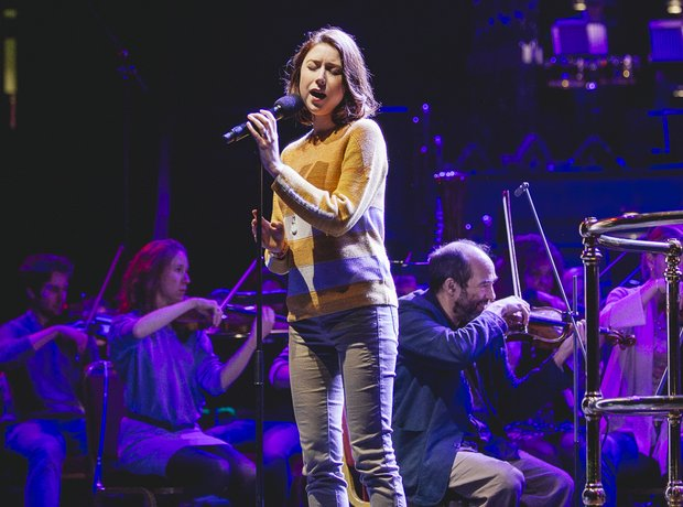 Hayley Westenra Classic FM Live 2014 rehearsals