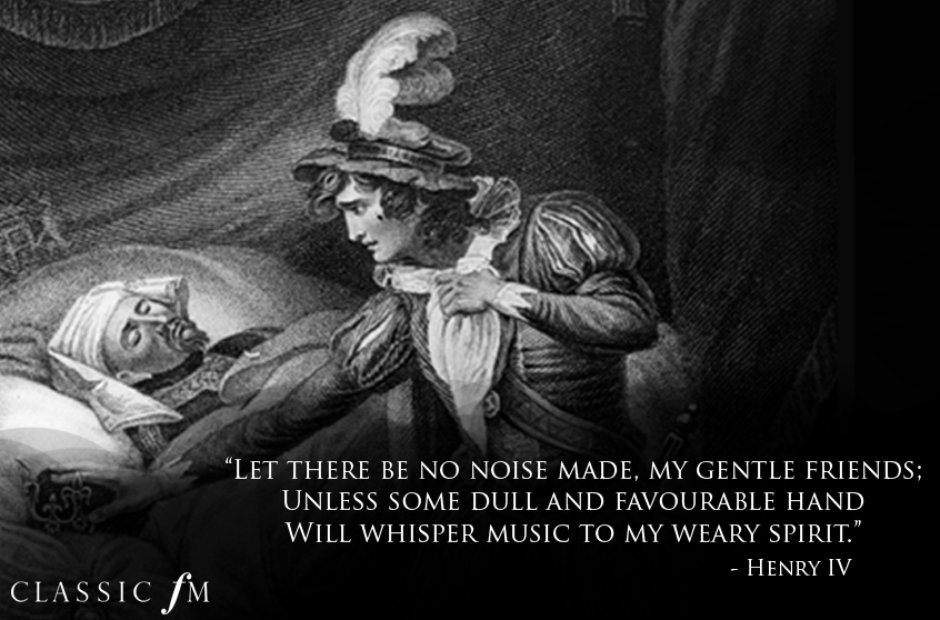 Shakespeare quotes about classical music