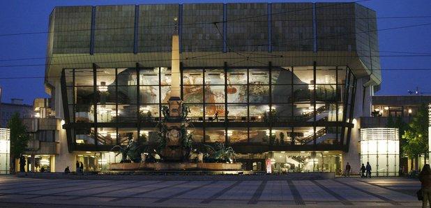 Leipzig Gewandhaus concert hall