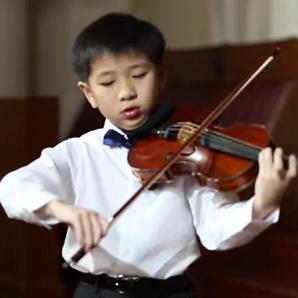 Samuel Tan violin prodigy