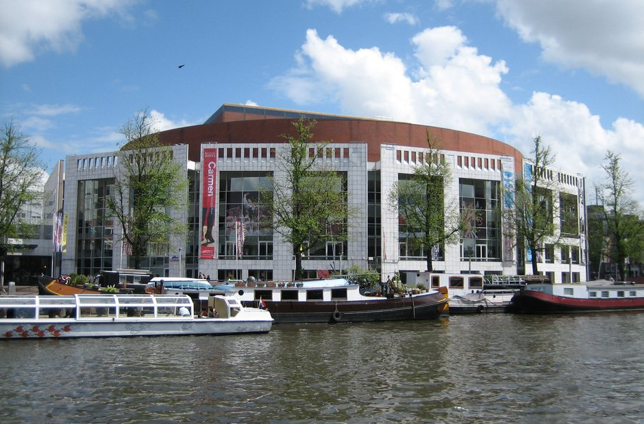 Amsterdam classical music venues Muziektheater opera ballet