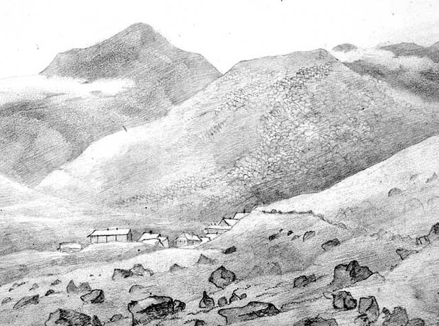 Mendelssohn Scotland sketch Ben More Mull