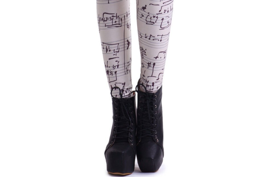 music leggings