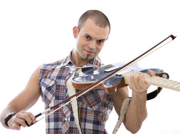 Bad stock photos violin
