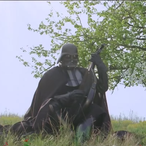Ukraine Darth Vader Advert