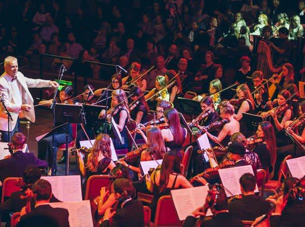 Leicestershire Schools Symphony Orchestra Performa
