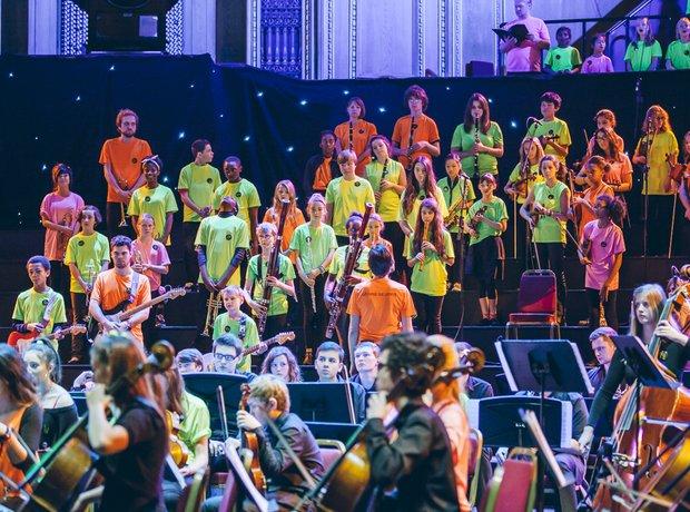 SRMP Massed Ensemble School Proms