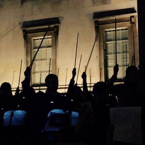 Musicians play moving Charlie Hebdo tribute in Tra
