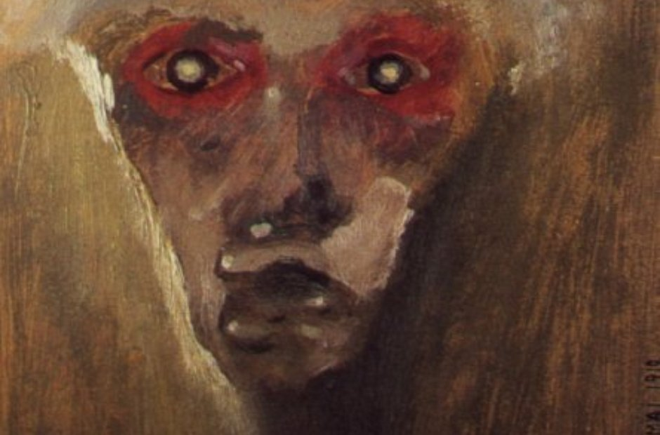 Schoenberg painting Red Gaze Munchen