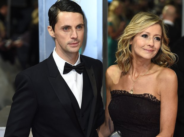 Matthew Goode and Sophie Dymoke, Bafta awards 2015