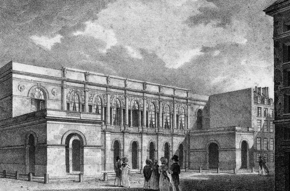 Original opera house drawings