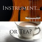 instrument or tea