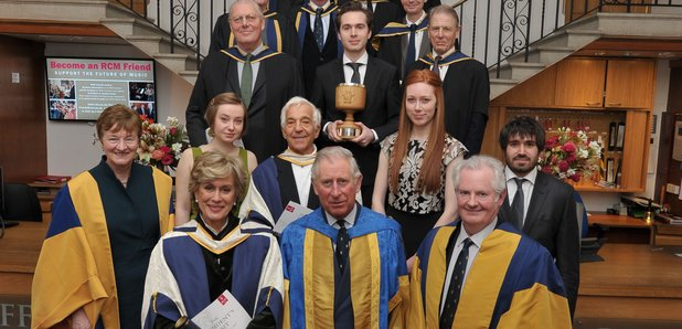 Royal College of Music president's visit