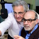 John Suchet and David Suchet April Fool
