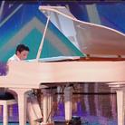 Curtis Elton performs on Britain's Got Talent